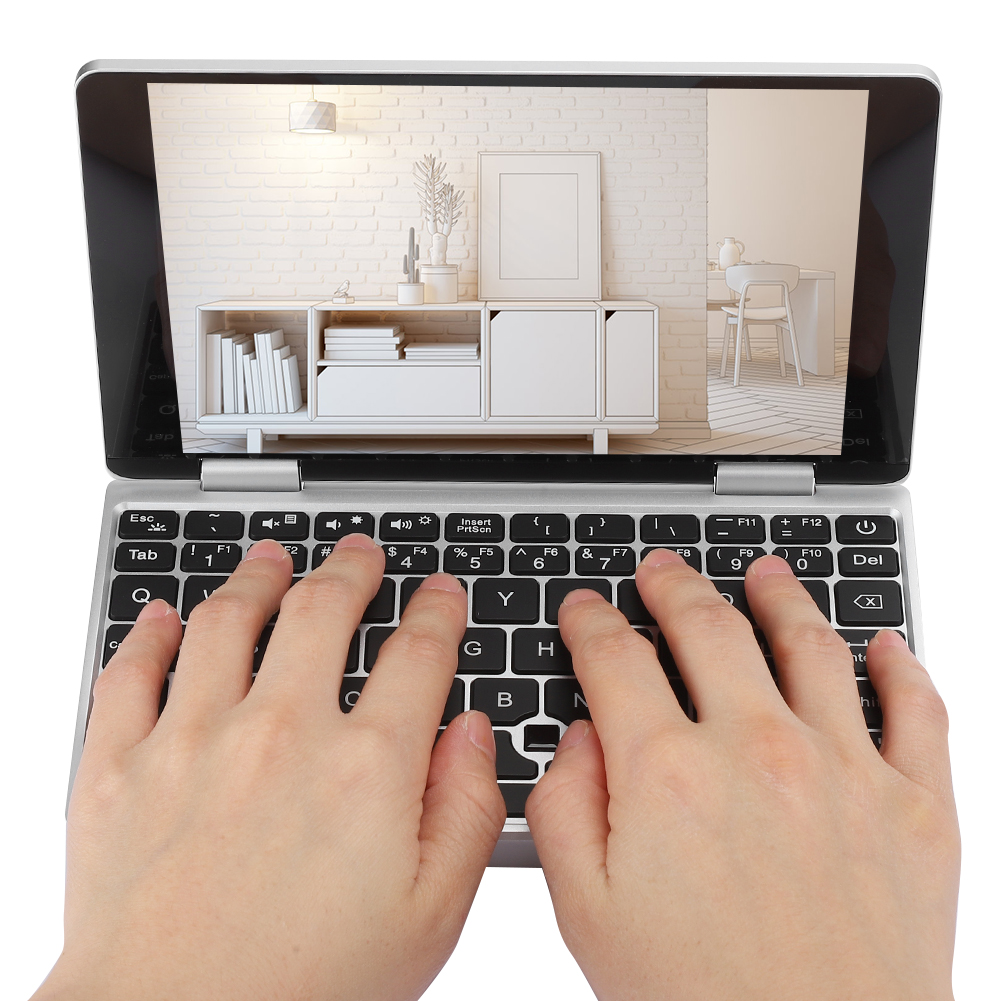Portatile-7-pollici-8GB-RAM-256GB-ROM-per-Intel-Celeron-3965Y-Tasca-Notebook-Laptop miniatura 29