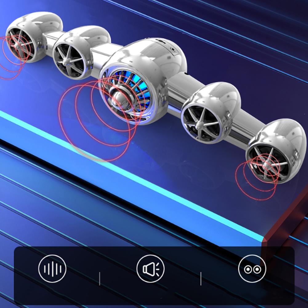 SADA-Bluetooth-Computer-Speaker-Desktop-Laptop-PC-Stereo-Subwoofer-Multimedia thumbnail 70