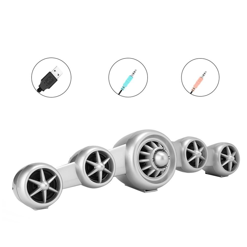 SADA-Bluetooth-Computer-Speaker-Desktop-Laptop-PC-Stereo-Subwoofer-Multimedia thumbnail 71