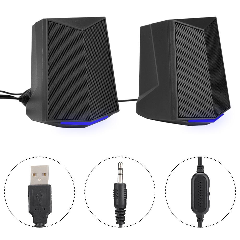 SADA-Bluetooth-Computer-Speaker-Desktop-Laptop-PC-Stereo-Subwoofer-Multimedia thumbnail 40