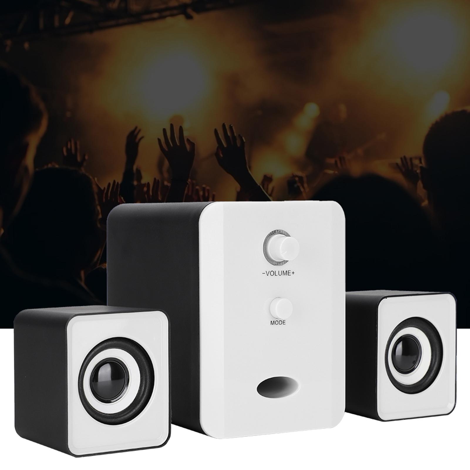 SADA-Bluetooth-Computer-Speaker-Desktop-Laptop-PC-Stereo-Subwoofer-Multimedia thumbnail 89