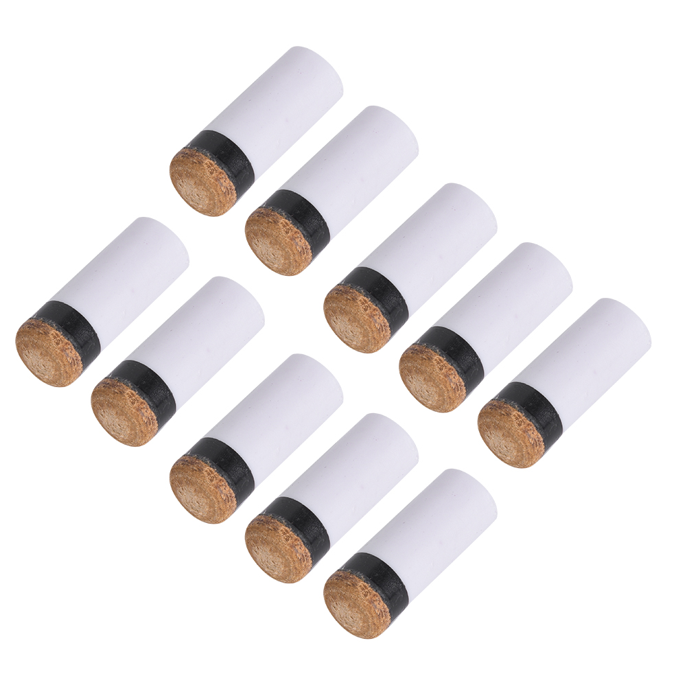 Details about  /10 Pcs Brown Billiard Snooker Rod Stick Replacement Cue Repair Pool Tips W8X9