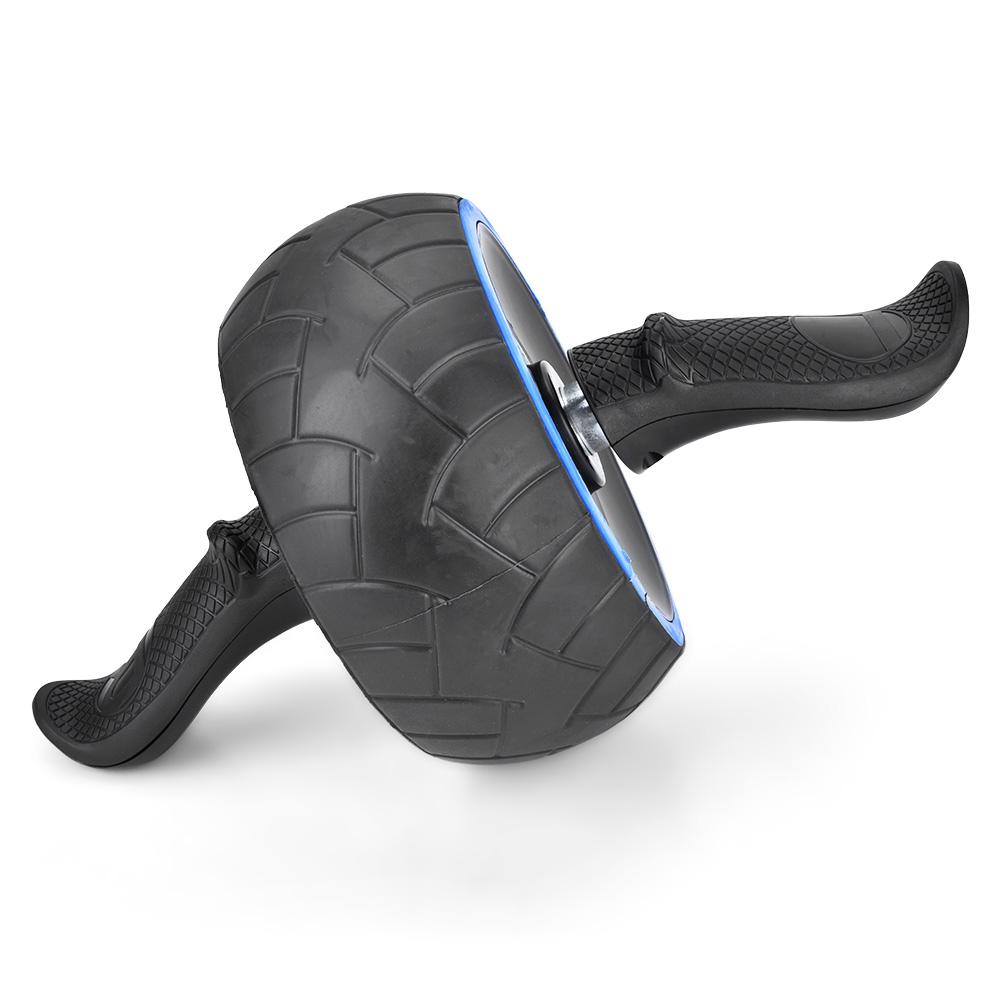 Abdominal Roller Rad Trainer Fitness Gym Heimtrainer mit Training Pad