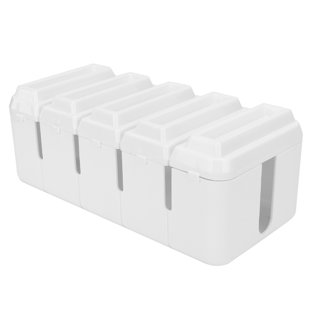 Cable-Wire-Management-Store-Box-Cord-Conceal-Plug-Socket-Storage-Organizer-Boxes thumbnail 14