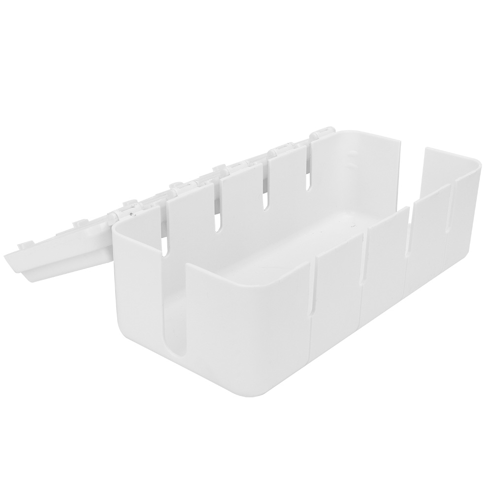 Cable-Wire-Management-Store-Box-Cord-Conceal-Plug-Socket-Storage-Organizer-Boxes thumbnail 15