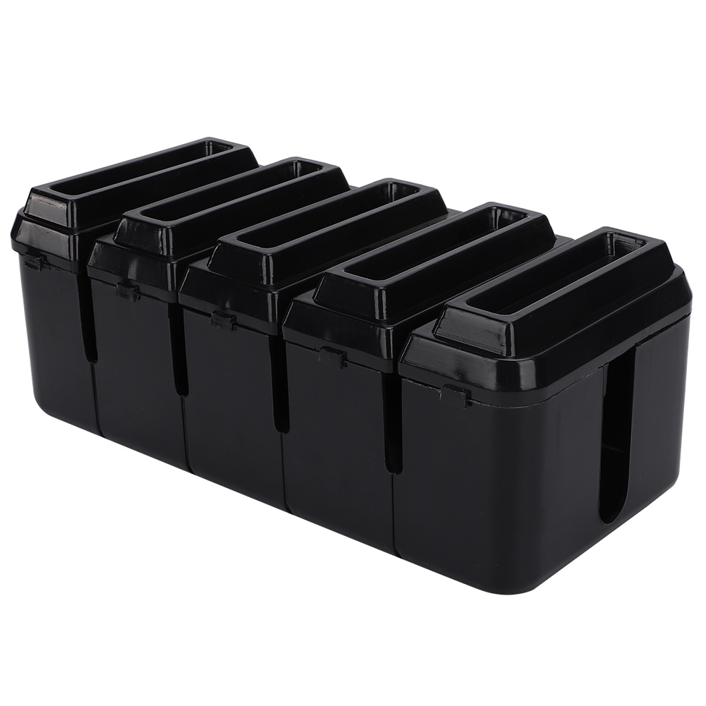Cable-Wire-Management-Store-Box-Cord-Conceal-Plug-Socket-Storage-Organizer-Boxes thumbnail 17