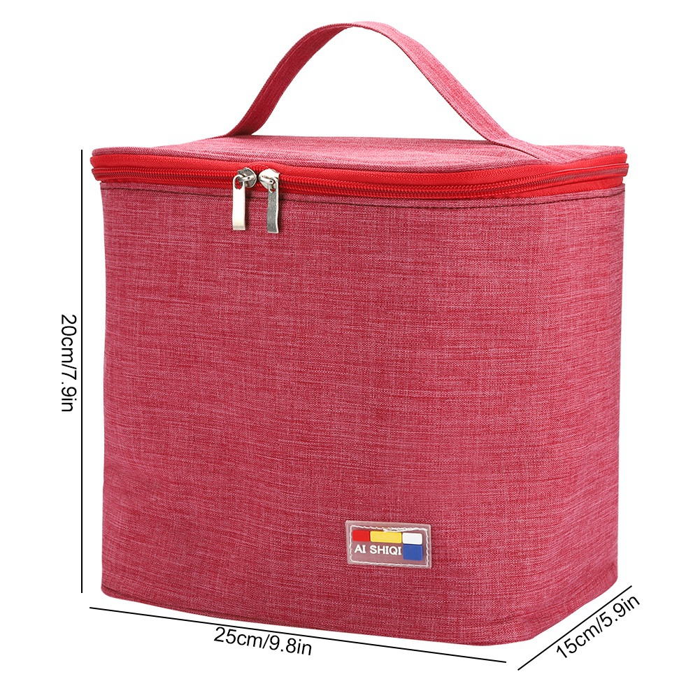 Portable-Lunch-Bag-Insulated-Thermal-Bags-Outdoor-Picnic-Travel-Food-Box-Bag thumbnail 40