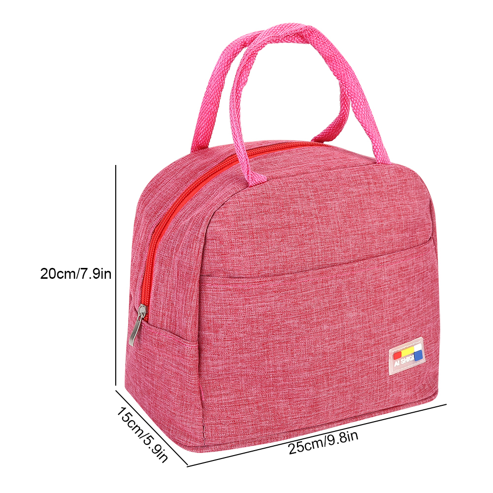 Portable-Lunch-Bag-Insulated-Thermal-Bags-Outdoor-Picnic-Travel-Food-Box-Bag thumbnail 24