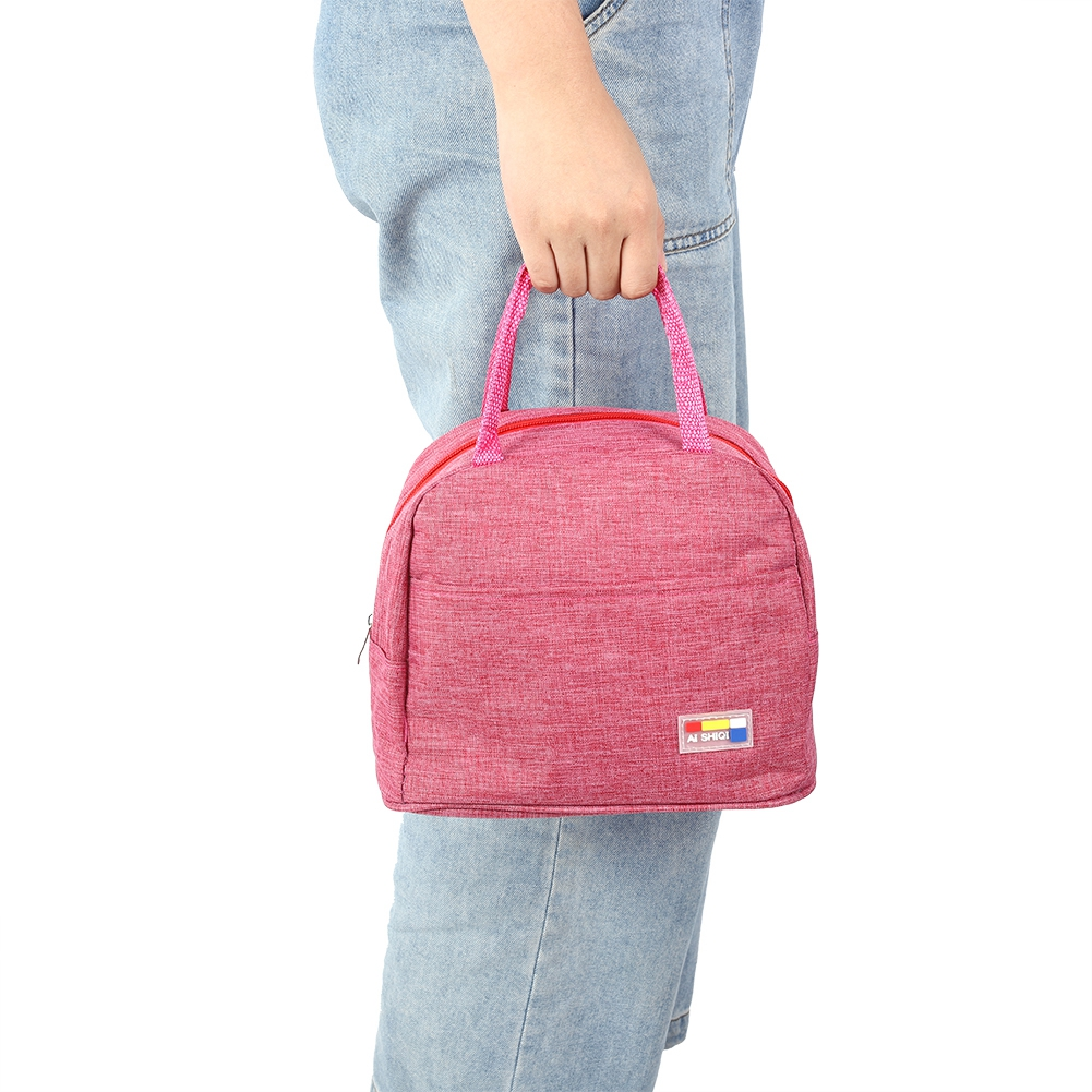 Portable-Lunch-Bag-Insulated-Thermal-Bags-Outdoor-Picnic-Travel-Food-Box-Bag thumbnail 23