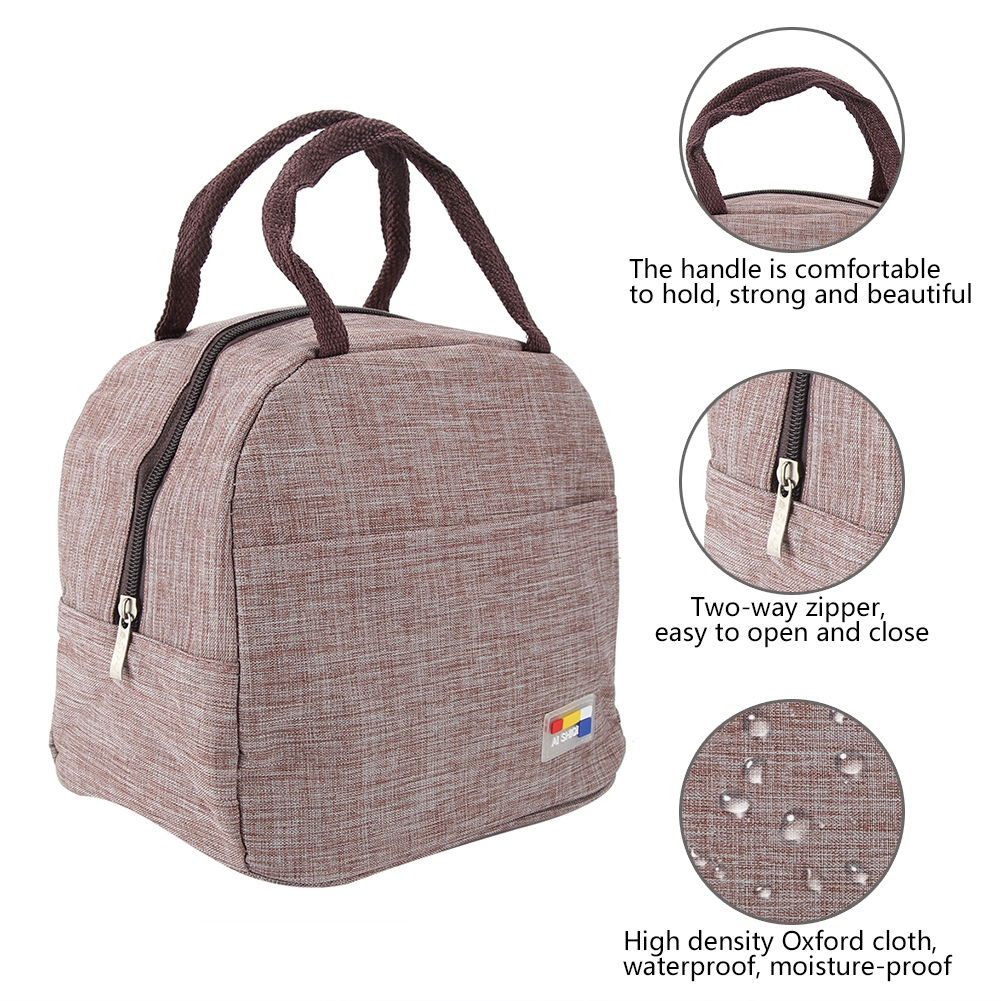 Portable-Lunch-Bag-Insulated-Thermal-Bags-Outdoor-Picnic-Travel-Food-Box-Bag thumbnail 27