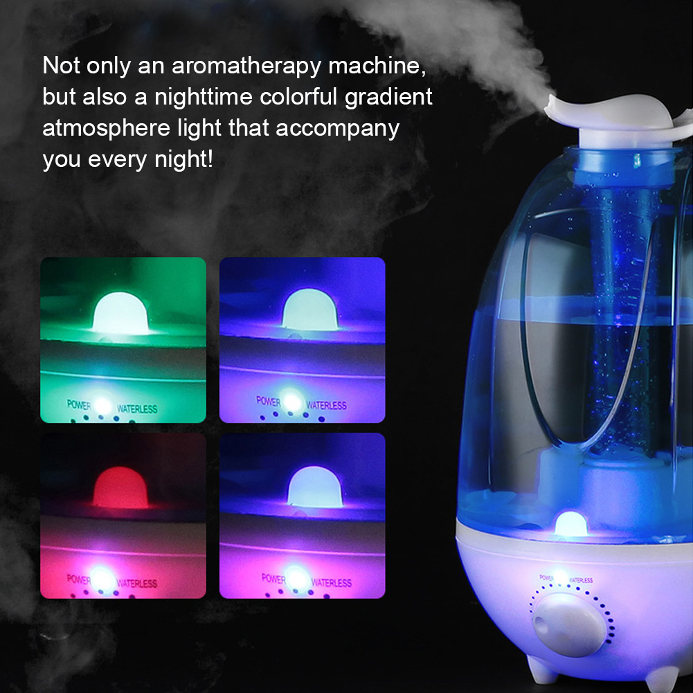 LED-Ultrasonic-Humidifier-Air-Mist-Purifier-Aromatherapy-Diffuser-Cool-Mist-4L thumbnail 56