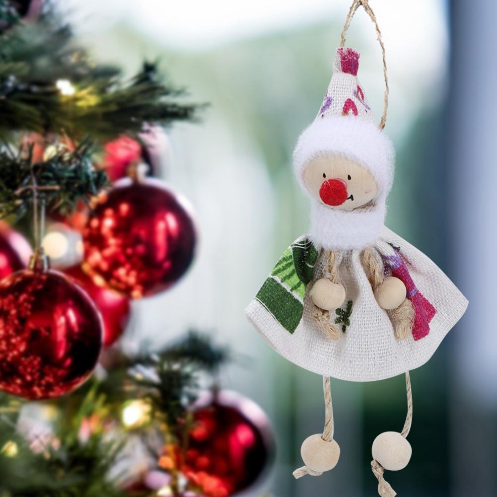 Christmas-Decorations-Tree-Ornament-Xmas-Hanging-Accessories-Wooden-DIY-Pendant thumbnail 42
