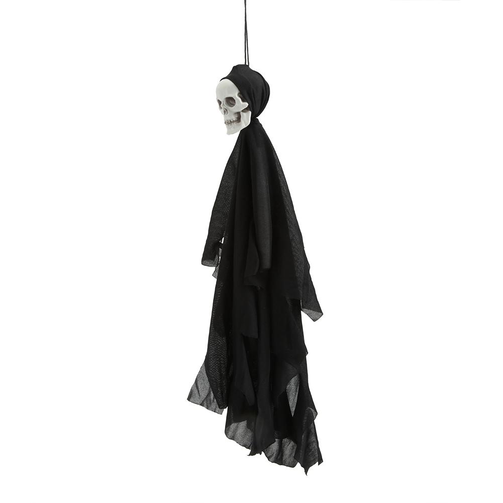 Lifelike-Halloween-Skeleton-Scary-Hanging-Skull-Decor-Ornament-Decoration-Props thumbnail 15