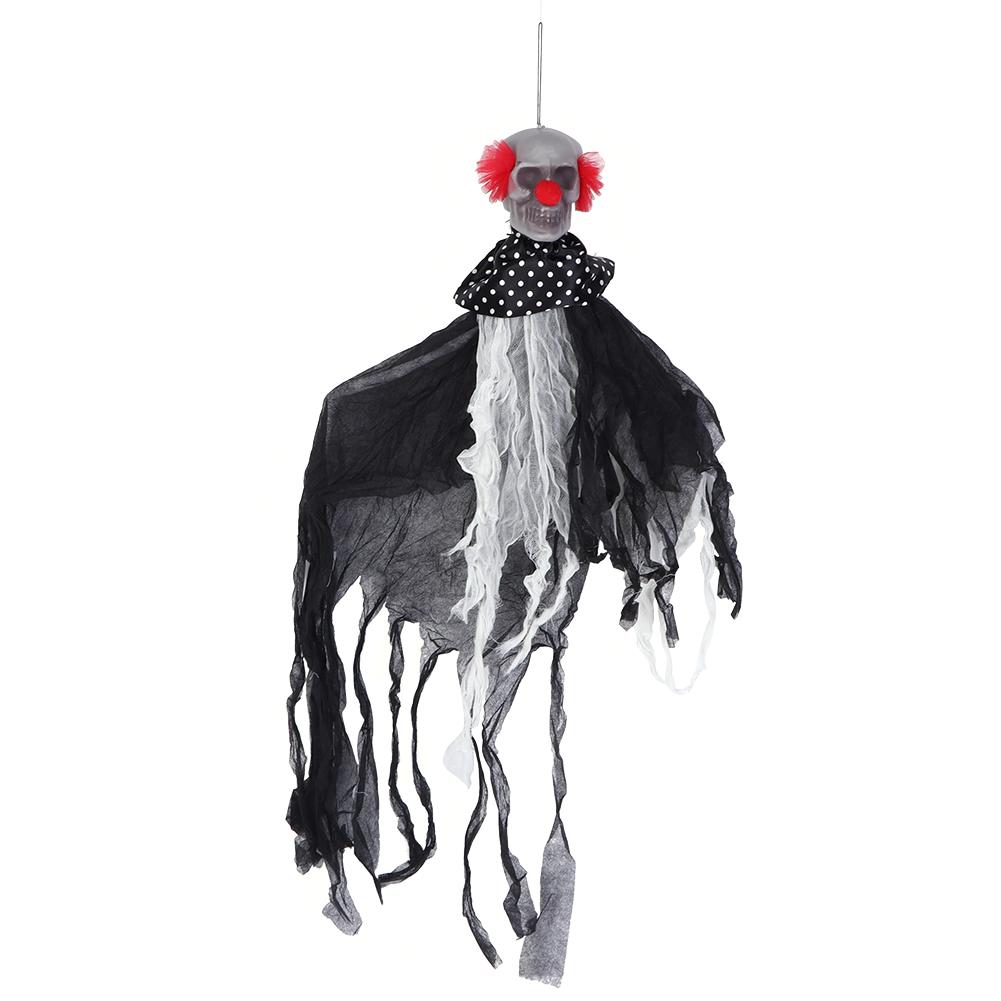Lifelike-Halloween-Skeleton-Scary-Hanging-Skull-Decor-Ornament-Decoration-Props thumbnail 27