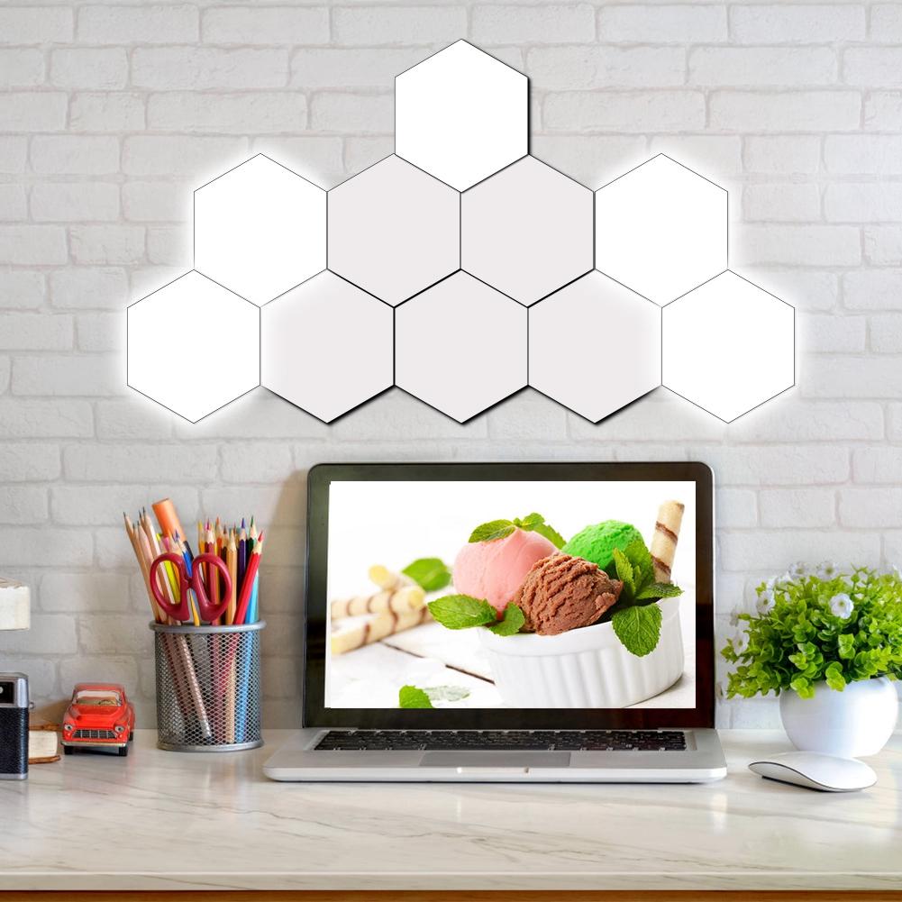 Luci Fai Da Te fai da te quantum lampada a sfioramento modulare illuminazione luci led  esagonale magnetico   ebay