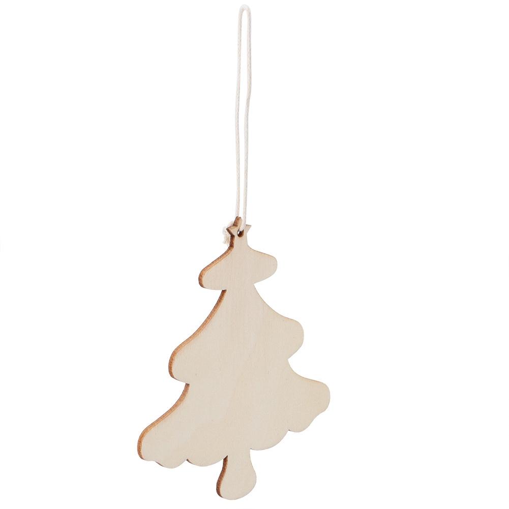 Christmas-Decorations-Tree-Ornament-Xmas-Hanging-Accessories-Wooden-DIY-Pendant thumbnail 115