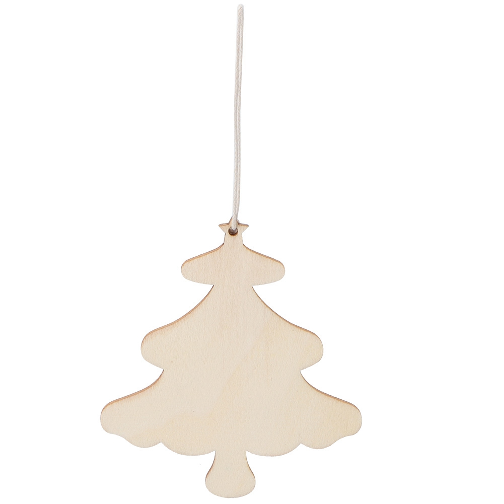 Christmas-Decorations-Tree-Ornament-Xmas-Hanging-Accessories-Wooden-DIY-Pendant thumbnail 116