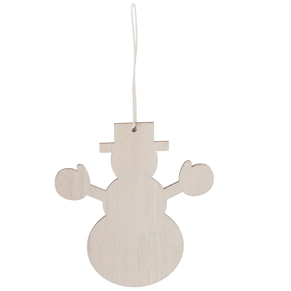 Christmas-Decorations-Tree-Ornament-Xmas-Hanging-Accessories-Wooden-DIY-Pendant thumbnail 118