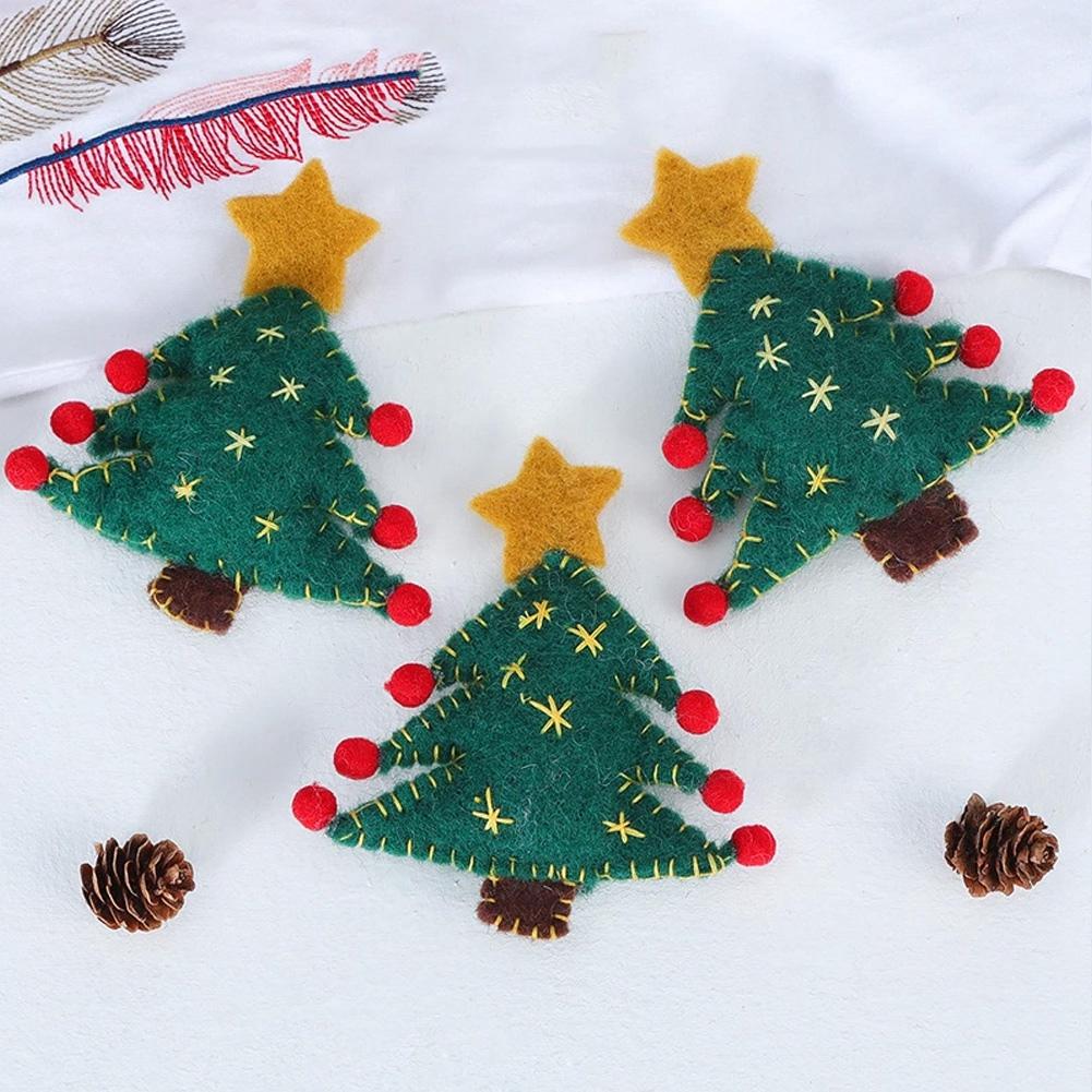 Christmas-Decorations-Tree-Ornament-Xmas-Hanging-Accessories-Wooden-DIY-Pendant thumbnail 193