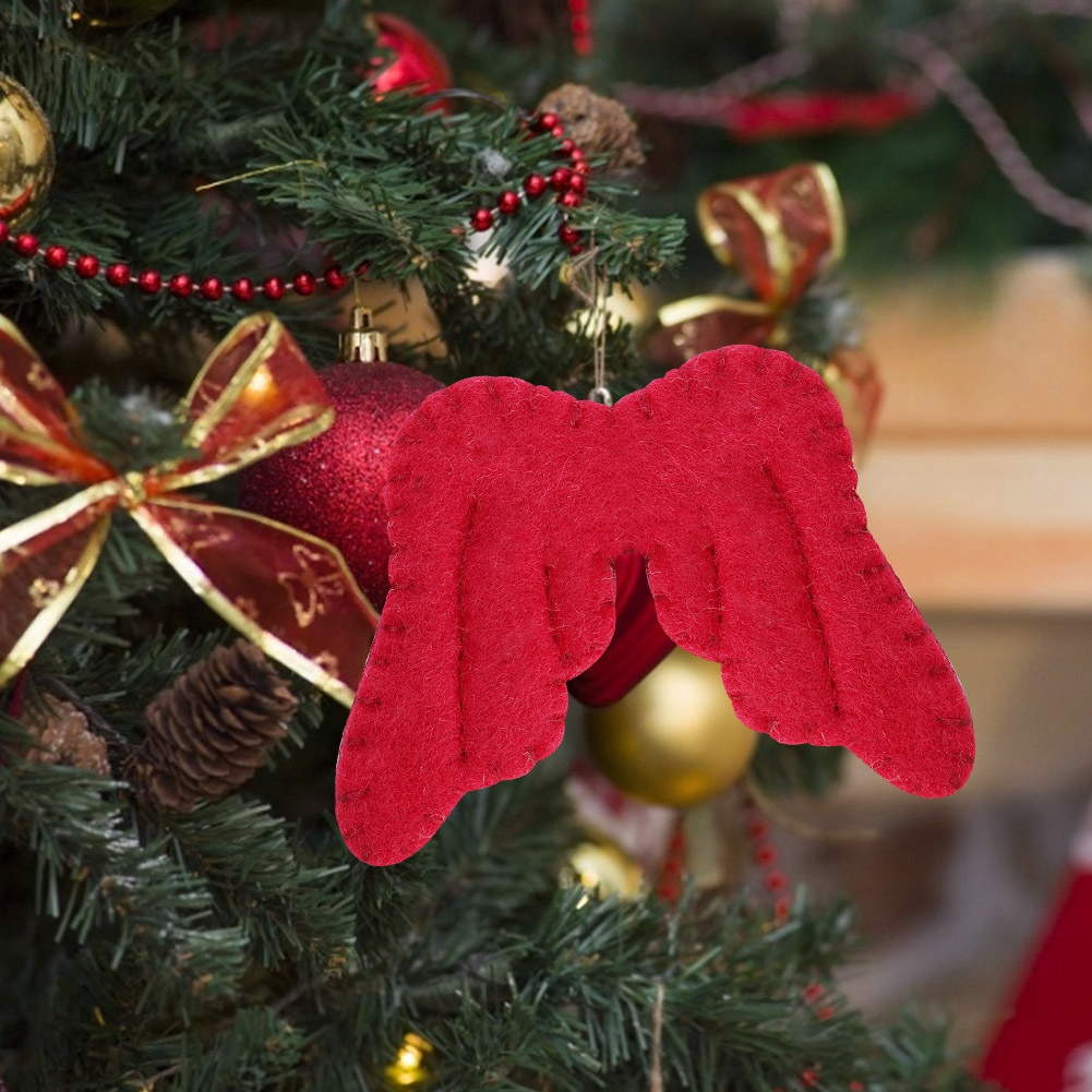 Christmas-Decorations-Tree-Ornament-Xmas-Hanging-Accessories-Wooden-DIY-Pendant thumbnail 208