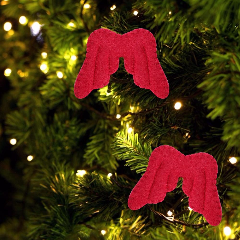 Christmas-Decorations-Tree-Ornament-Xmas-Hanging-Accessories-Wooden-DIY-Pendant thumbnail 209