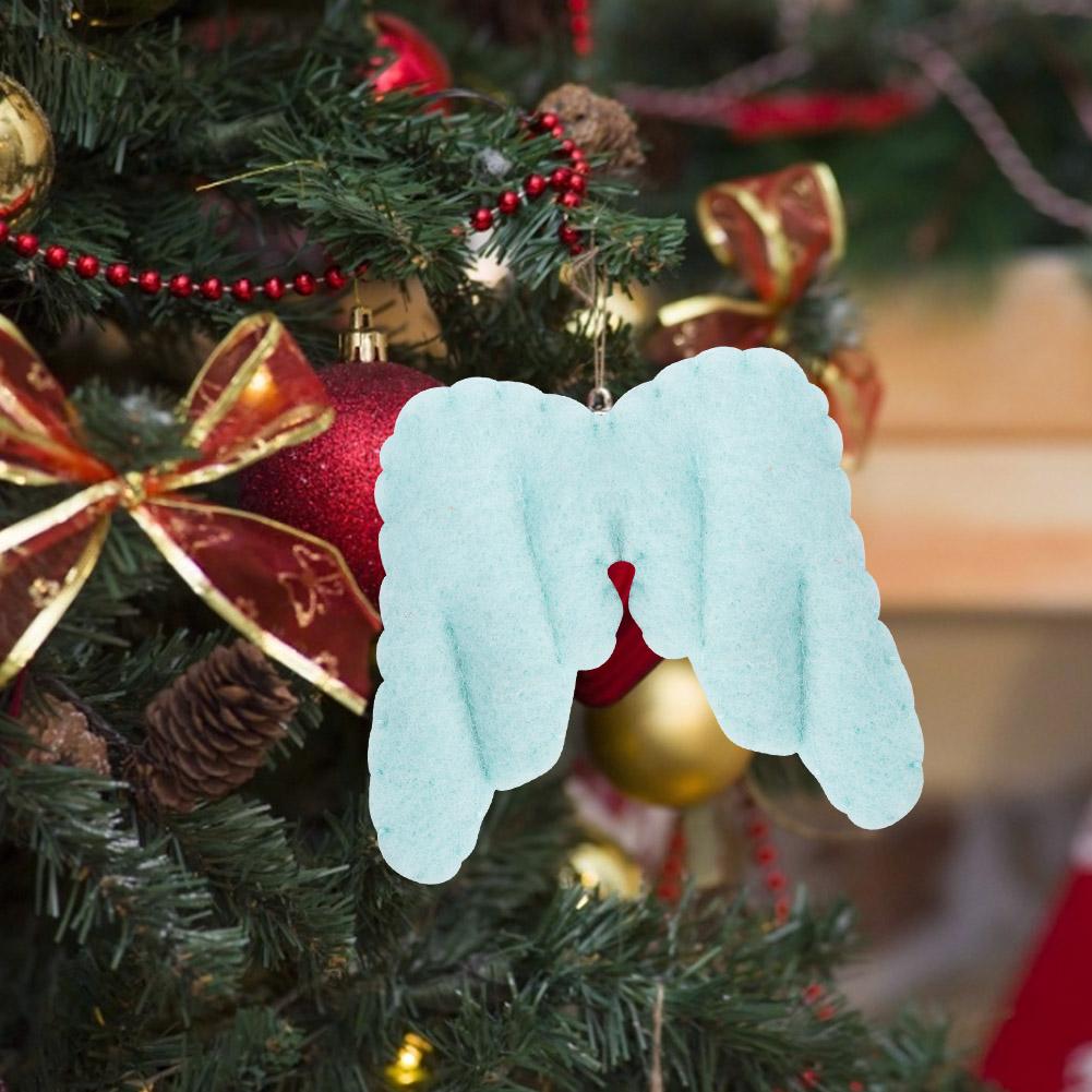 Christmas-Decorations-Tree-Ornament-Xmas-Hanging-Accessories-Wooden-DIY-Pendant thumbnail 211