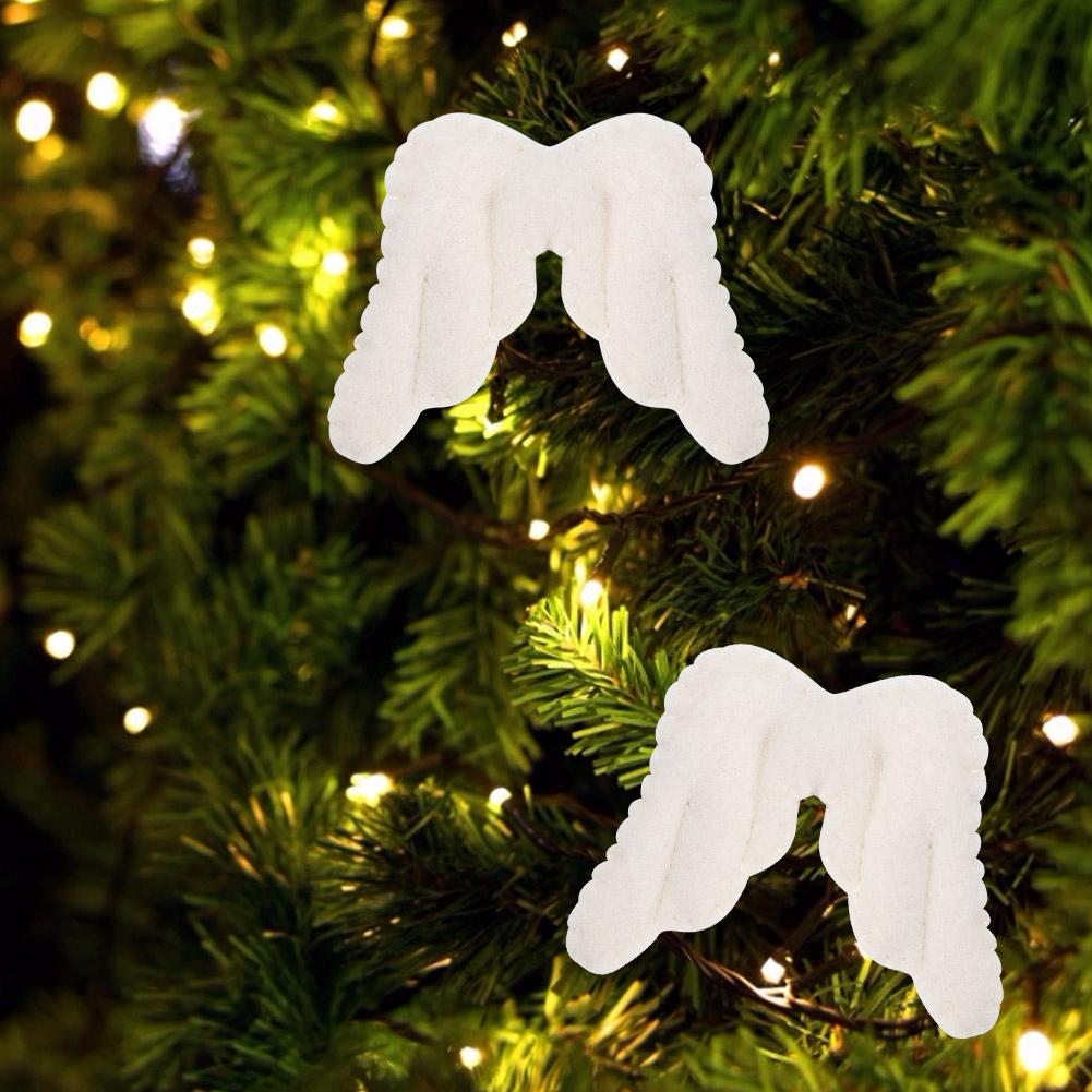 Christmas-Decorations-Tree-Ornament-Xmas-Hanging-Accessories-Wooden-DIY-Pendant thumbnail 215
