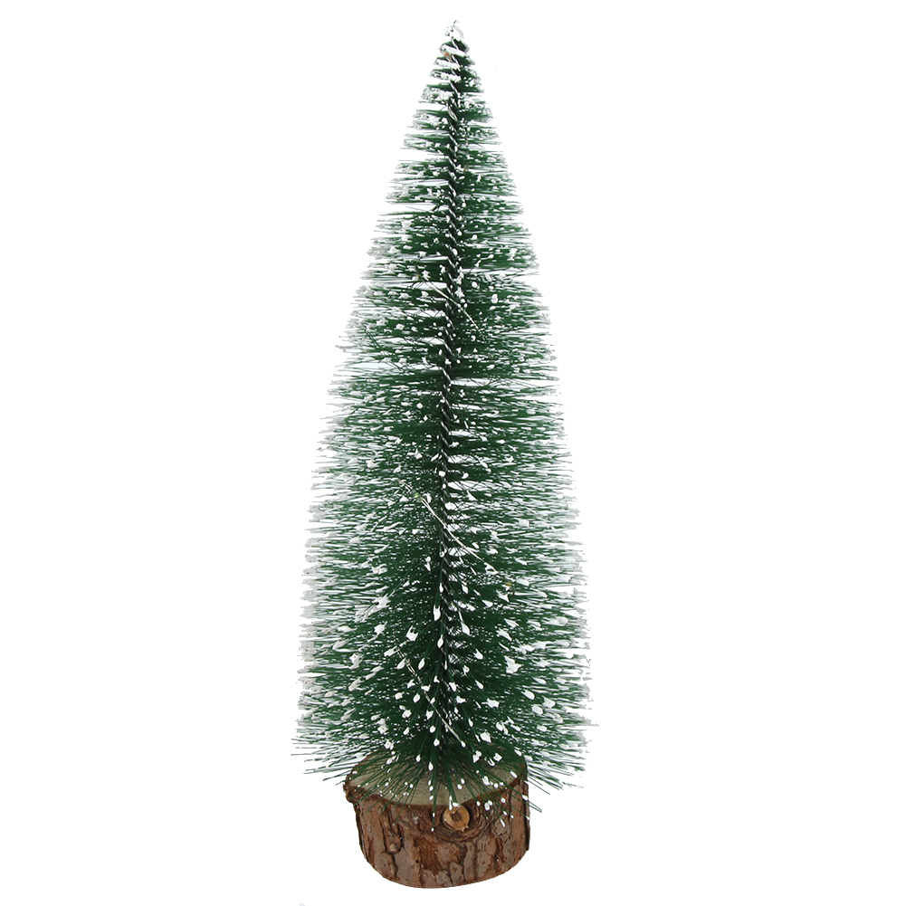LED-Mini-Sisal-Christmas-Trees-Ornament-Snow-Frost-Small-Pine-Tree-XMAS-Decor thumbnail 15
