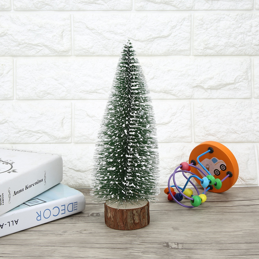 LED-Mini-Sisal-Christmas-Trees-Ornament-Snow-Frost-Small-Pine-Tree-XMAS-Decor thumbnail 17