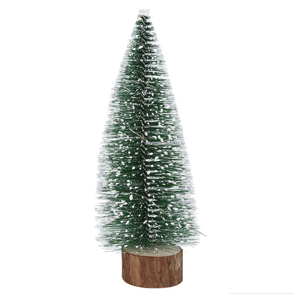 LED-Mini-Sisal-Christmas-Trees-Ornament-Snow-Frost-Small-Pine-Tree-XMAS-Decor thumbnail 21