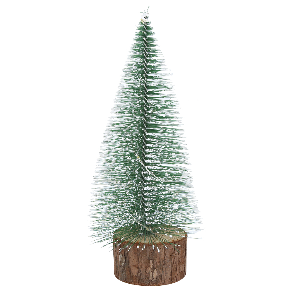 LED-Mini-Sisal-Christmas-Trees-Ornament-Snow-Frost-Small-Pine-Tree-XMAS-Decor thumbnail 27