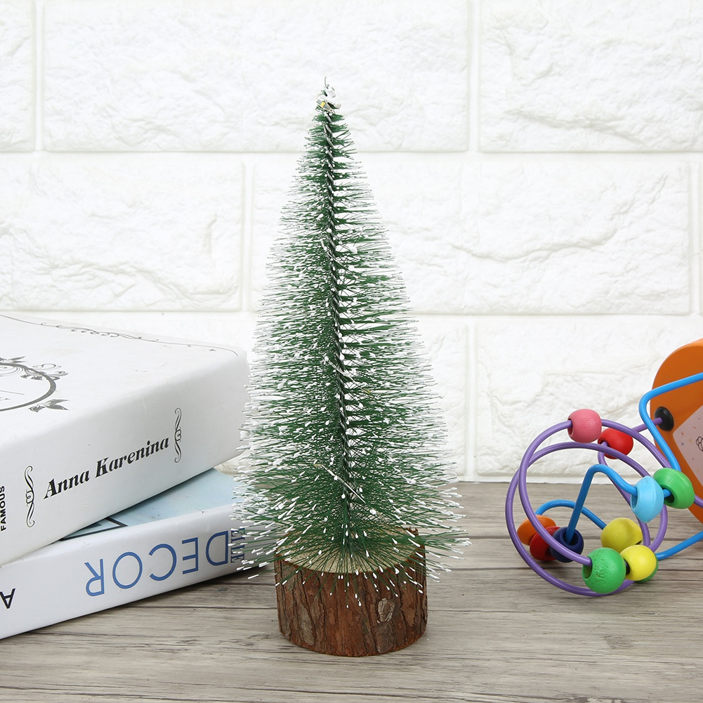 LED-Mini-Sisal-Christmas-Trees-Ornament-Snow-Frost-Small-Pine-Tree-XMAS-Decor thumbnail 26