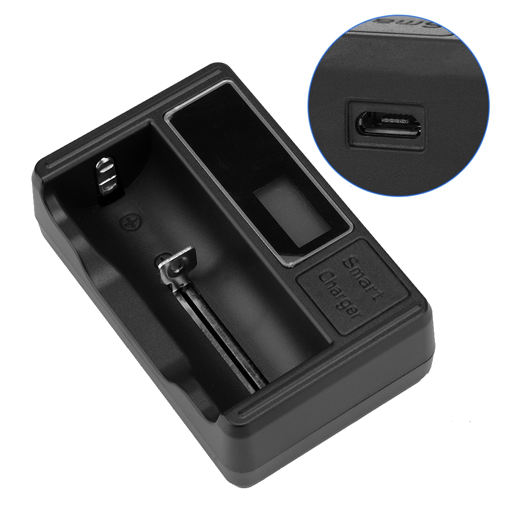 Portable-1-2-3-4-Slots-Smart-Battery-Charger-Rechargeable-Battery-USB-Charging thumbnail 19