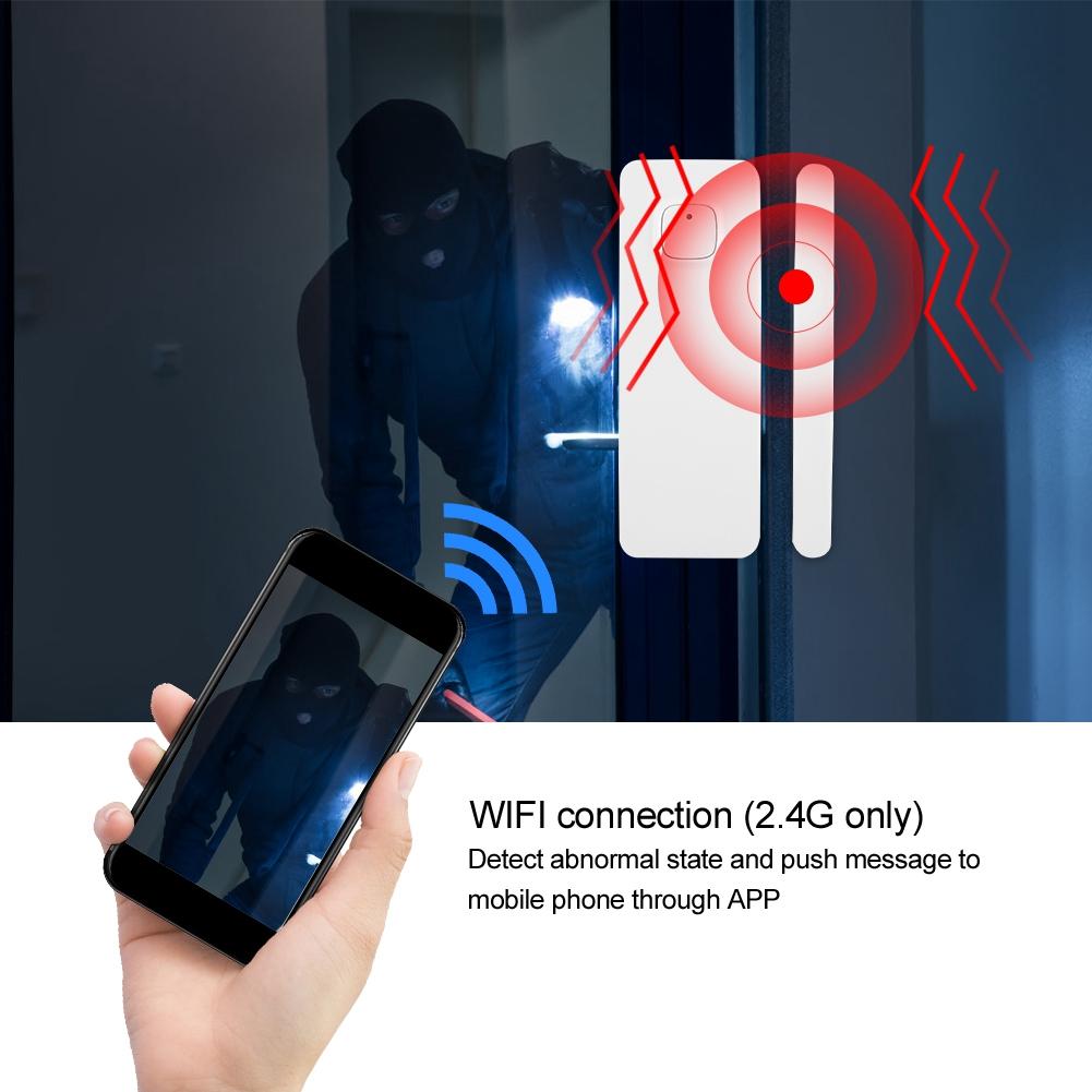 WiFi-Door-Window-Sensor-2-4Ghz-Home-Security-Detector-Support-for-Google-Home thumbnail 18