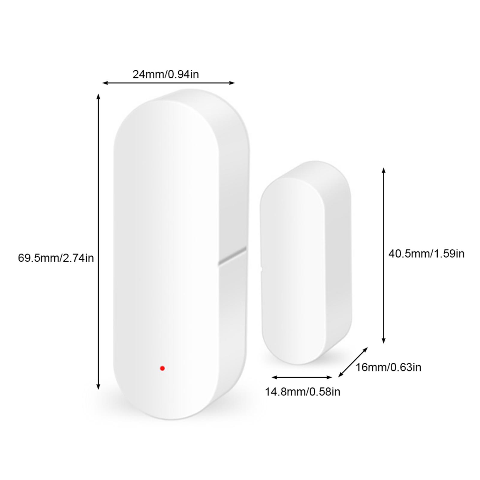 WiFi-Door-Window-Sensor-2-4Ghz-Home-Security-Detector-Support-for-Google-Home thumbnail 42