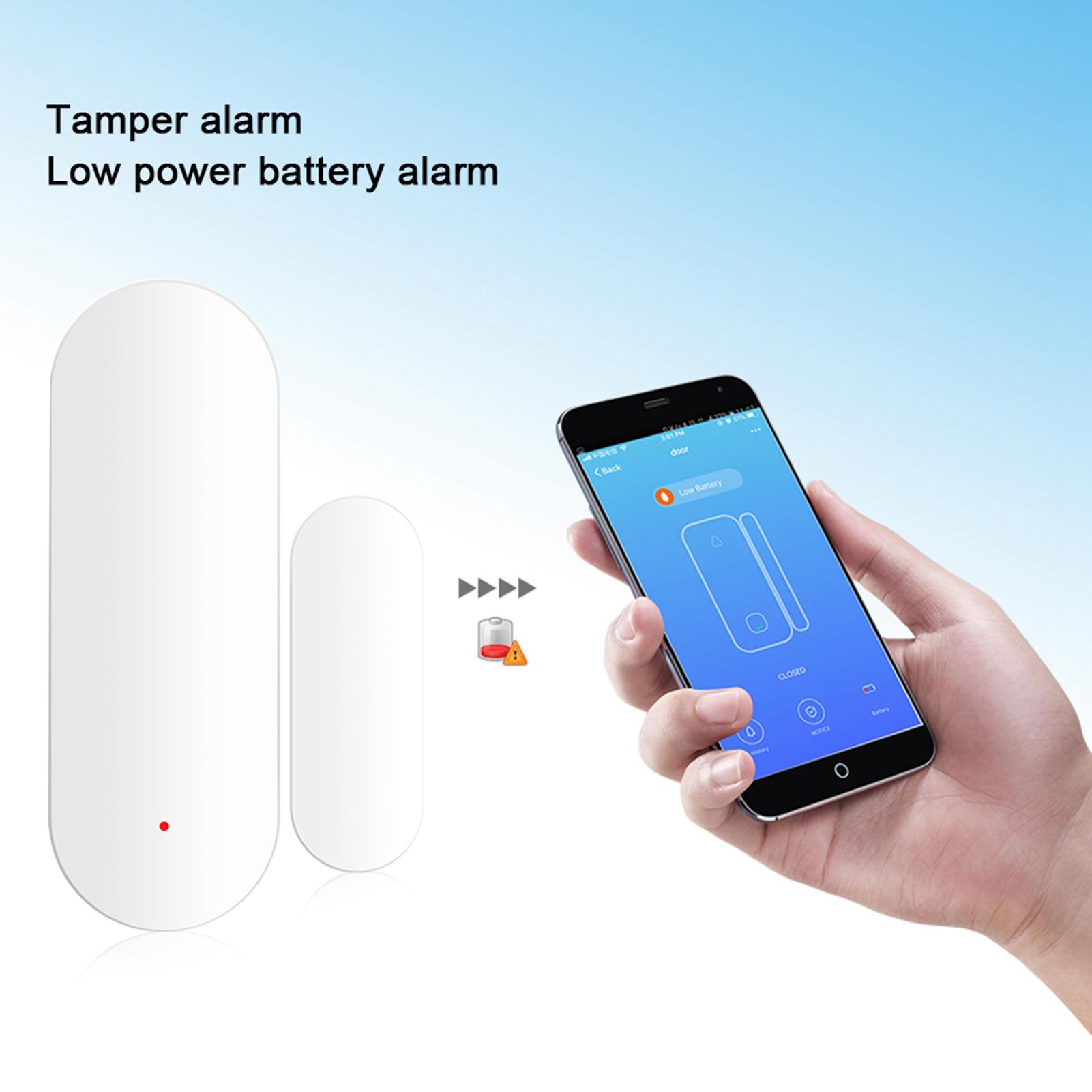 WiFi-Door-Window-Sensor-2-4Ghz-Home-Security-Detector-Support-for-Google-Home thumbnail 41