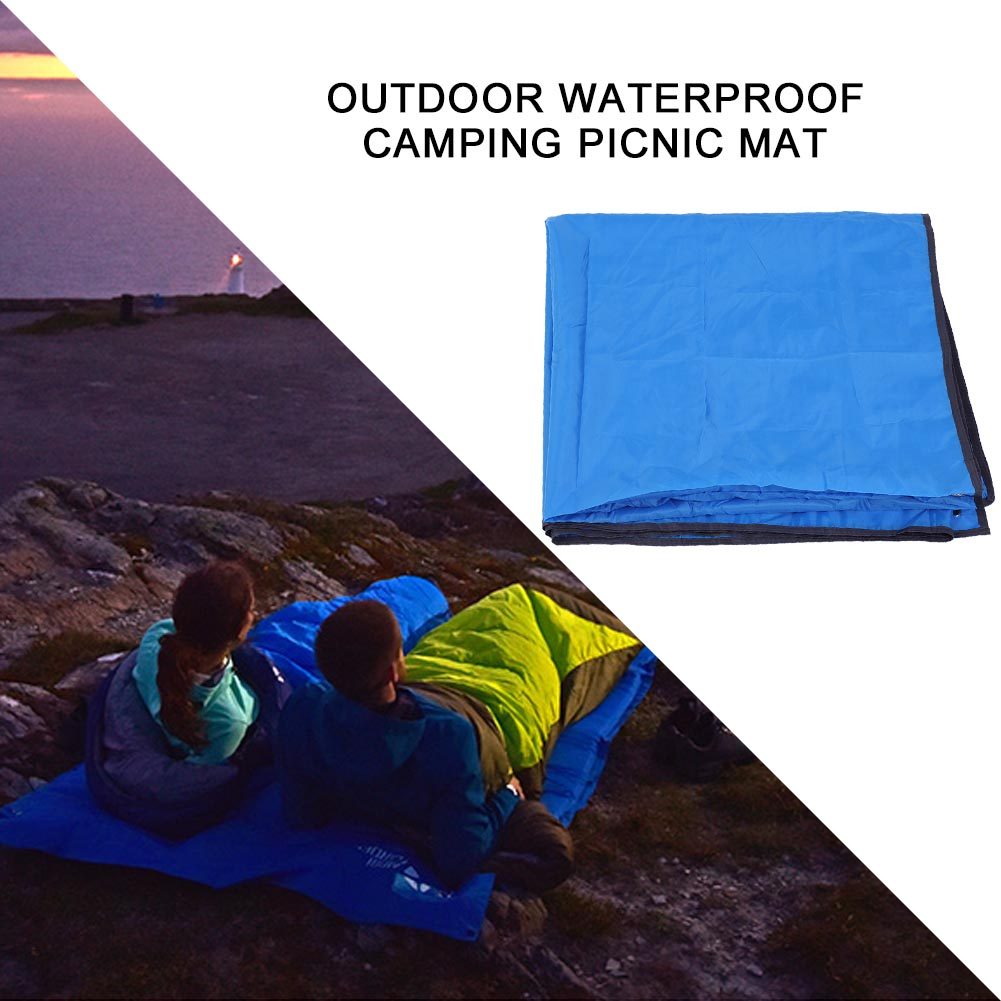 215X215CM-Camping-Rain-Moisture-Proof-Ground-Sheet-Tent-Awning-Cover-Mat-Cushion thumbnail 15