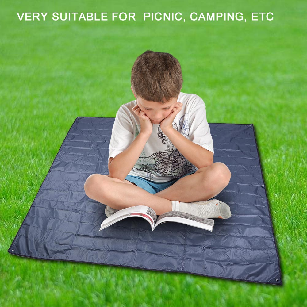 215X215CM-Camping-Rain-Moisture-Proof-Ground-Sheet-Tent-Awning-Cover-Mat-Cushion thumbnail 17
