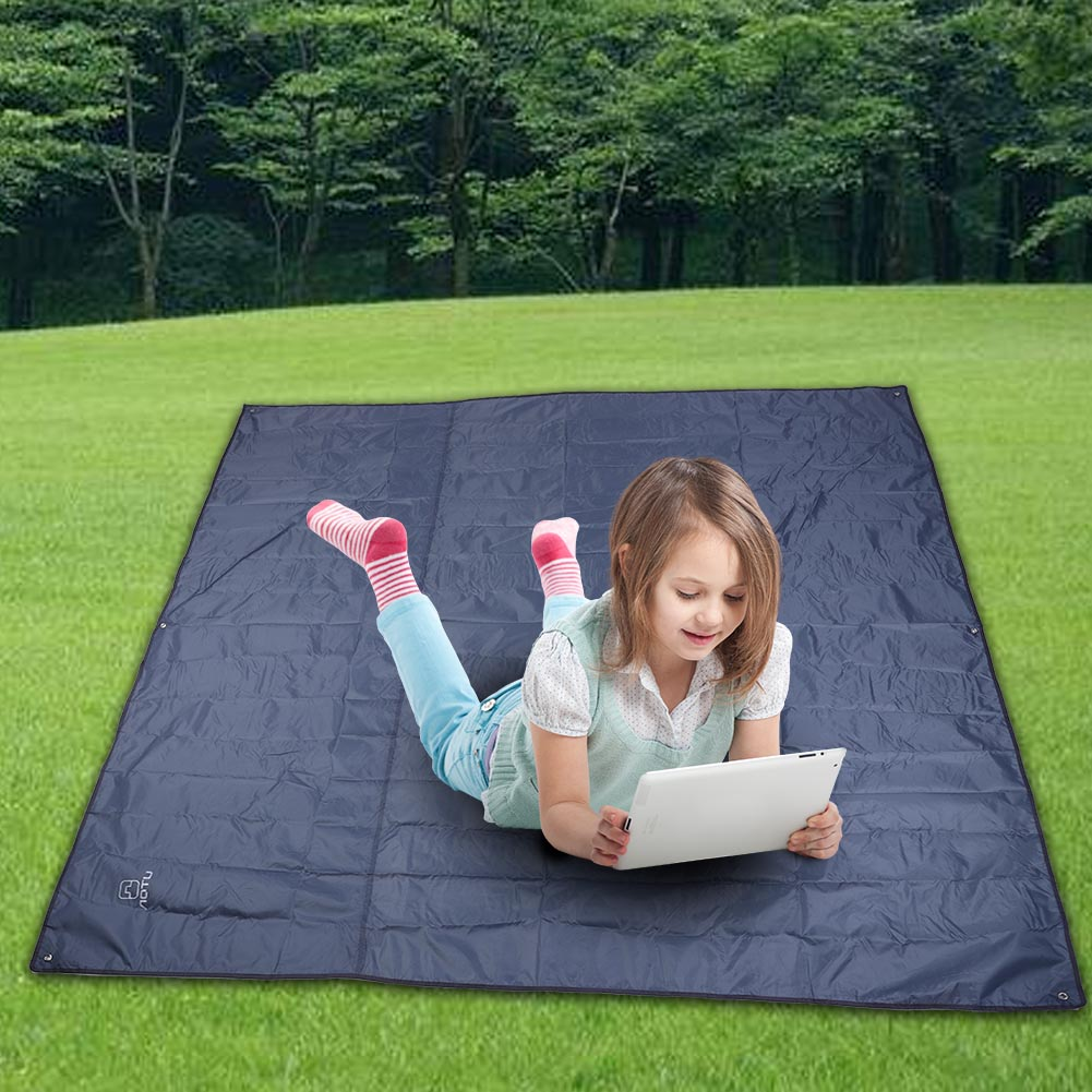 215X215CM-Camping-Rain-Moisture-Proof-Ground-Sheet-Tent-Awning-Cover-Mat-Cushion thumbnail 18