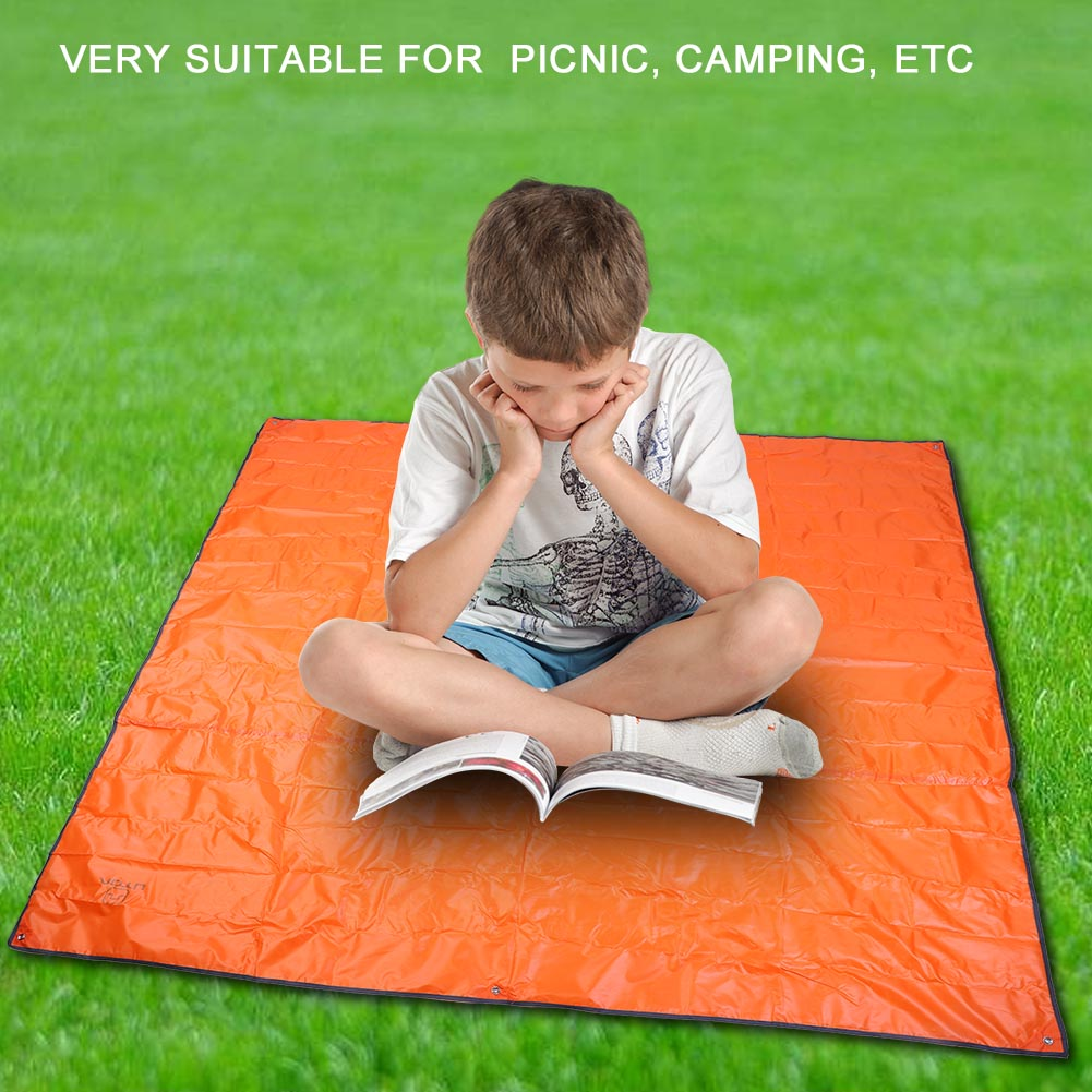 215X215CM-Camping-Rain-Moisture-Proof-Ground-Sheet-Tent-Awning-Cover-Mat-Cushion thumbnail 20