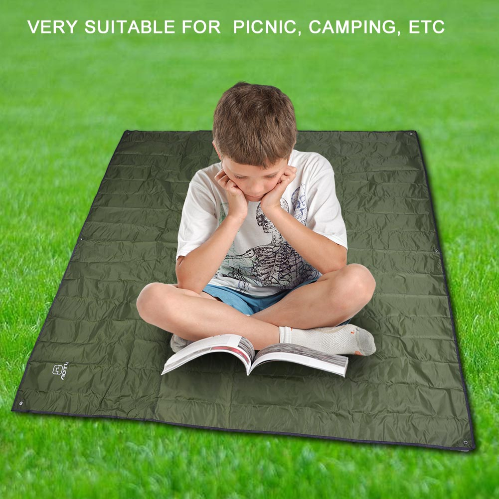 215X215CM-Camping-Rain-Moisture-Proof-Ground-Sheet-Tent-Awning-Cover-Mat-Cushion thumbnail 24