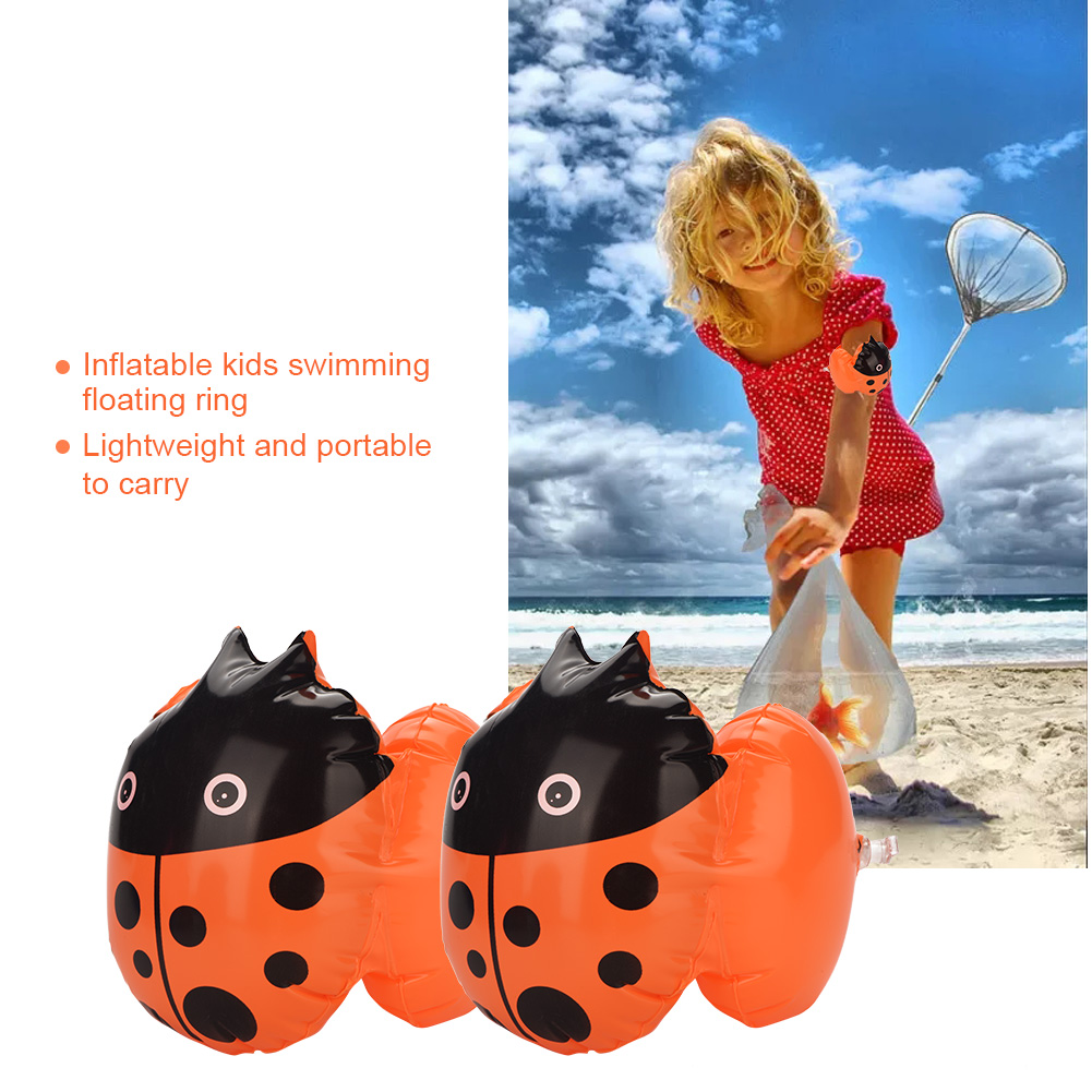 2Pcs-Kids-Inflatable-Swim-Arm-Float-Ring-Baby-Float-Swimming-Pool-Swim-Circle miniature 17