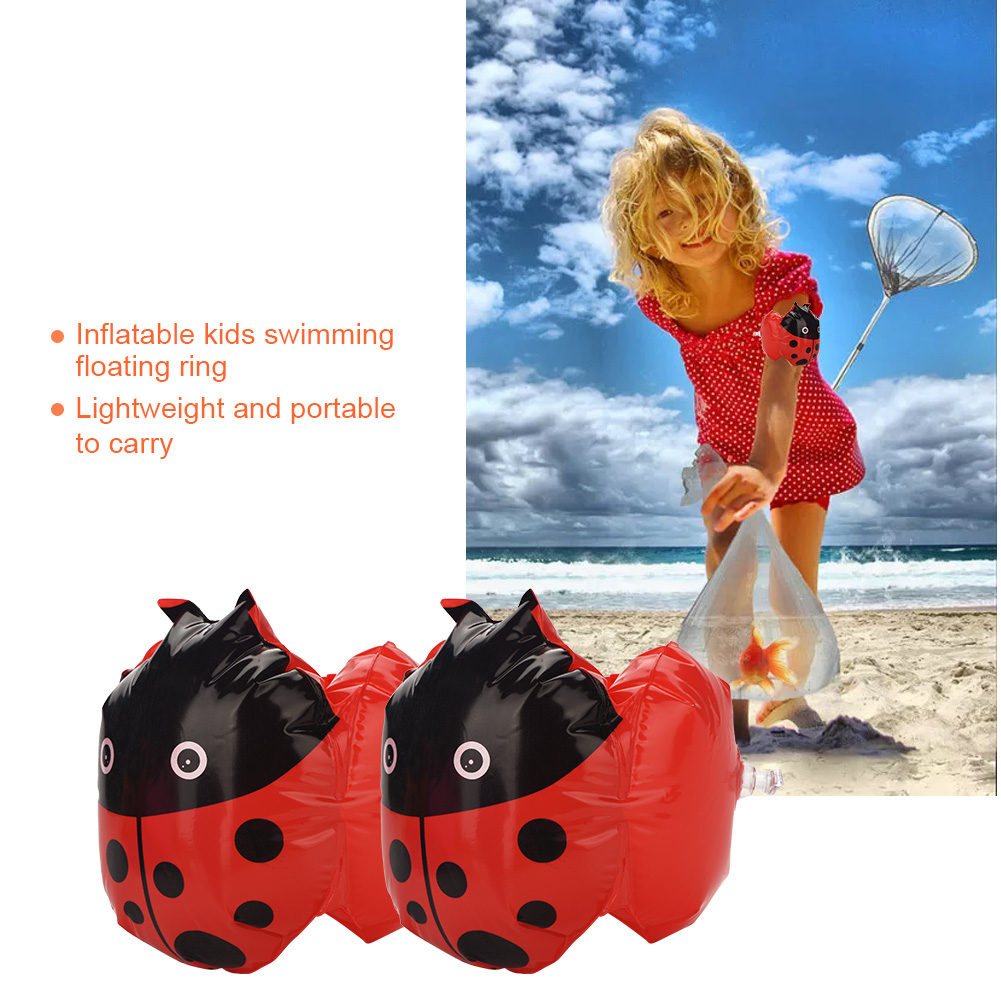 2Pcs-Kids-Inflatable-Swim-Arm-Float-Ring-Baby-Float-Swimming-Pool-Swim-Circle miniature 20