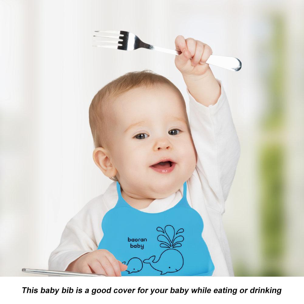 Waterproof-Newborn-Baby-Infants-Silicone-Bibs-Toddler-Lunch-Saliva-Aprons-Towel