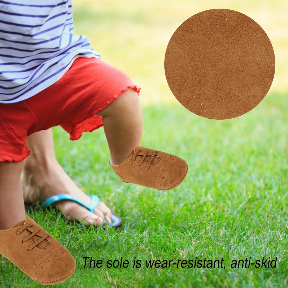 0e1c4376885b Baby Soft Sole Crib Shoes Infant Boy Girl Toddler Sneaker Anti-Slip ...