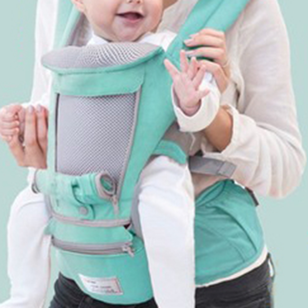 Newborn-Baby-Carrier-Sling-Wrap-Backpack-Front-Back-Chest-Ergonomic-3-Position miniature 18
