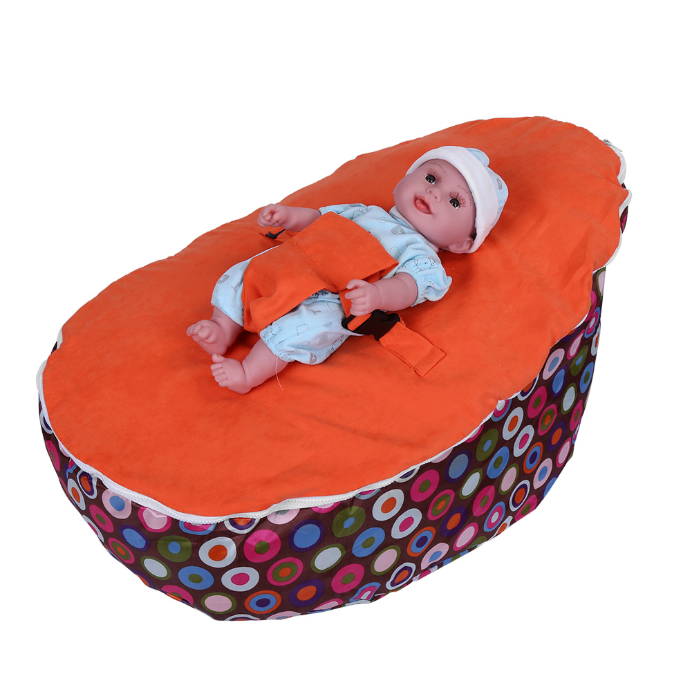 Baby Toddler Bean Bag Chair Kids Sofa Bed Couch Cover ...