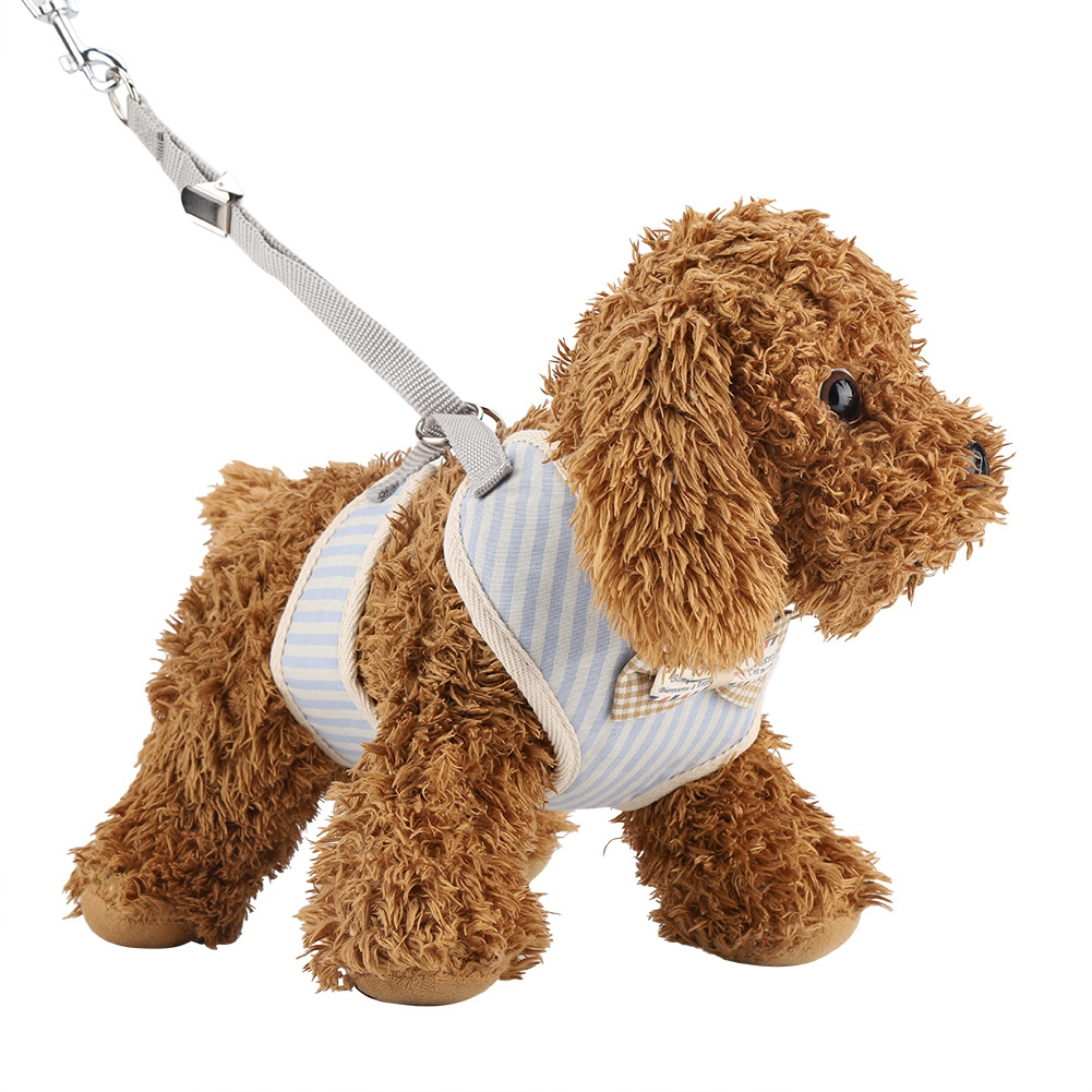 New-Small-Large-Dog-Soft-Adjustable-Harness-Pet-Walk-Out-Hand-Strap-Vest-Collar thumbnail 32