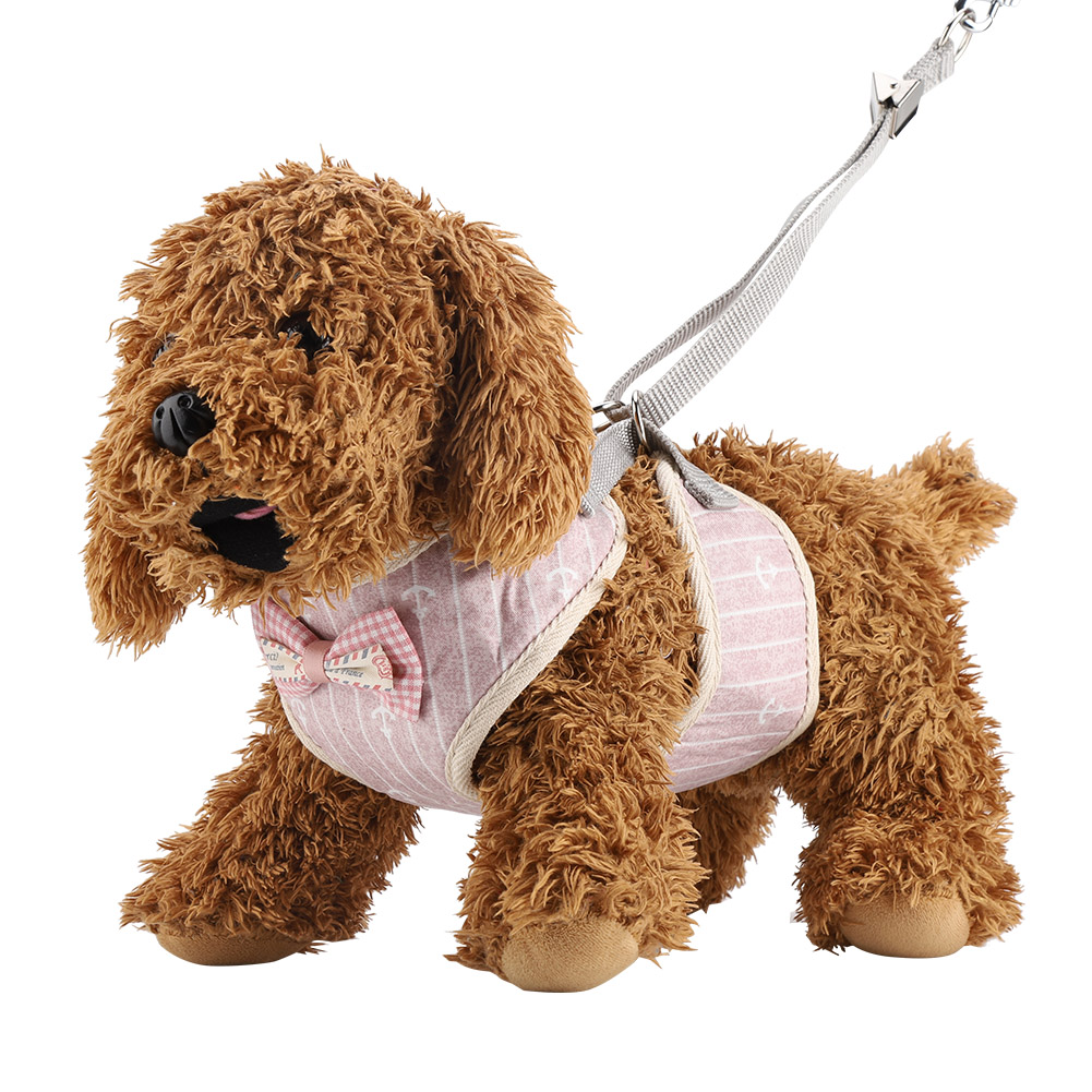 New-Small-Large-Dog-Soft-Adjustable-Harness-Pet-Walk-Out-Hand-Strap-Vest-Collar thumbnail 45