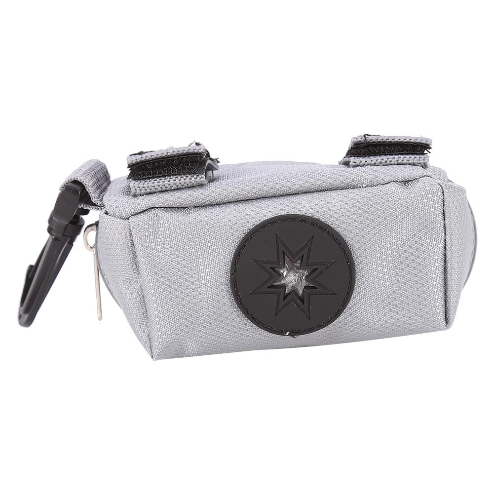 Hook up bag holder